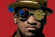 Steam, Diesel, Cyber, Afro, Soul-punk (funk) Revolution; Cosplay & Costumes / by Dom Cardinal