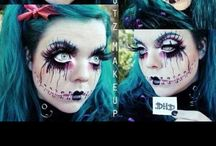 Gory & Fancy Makeup / All different types/styles of makeup / by Bianca Waters