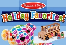 """Holiday Gift Guide  / What's on your child's """"wish list""""? This board highlights our top recommendations for the 2013 holiday season, for children of every age!  / by Melissa & Doug Toys"""