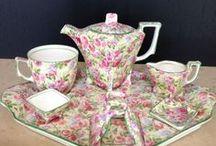 Tea Sets / Tea Service. / by Nash Black