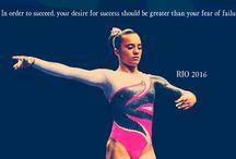 Gymnastics is my life / Gymnastics all the time  / by Kate Hernandez