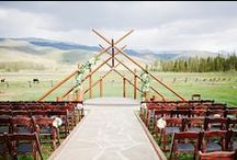 real weddings: devils thumb ranch  / by The Perfect Petal