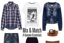 Mix & Match / The absolute mix & match guide by BSB! / by BSB Fashion