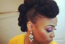 Natural Hairstyles & Tutorials / by Beauty Tips N Tricks