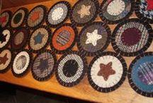 Penny Rug & Wool Felt Crafts / by Lorraine Dufresne Hart