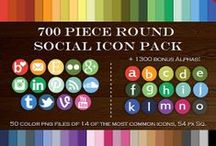 Social Media Button Envy / by Fabulous Blogging