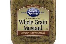 Whole Grain Mustard / @SilvSprngFoods #SilverSpringFoods #WholeGrainMustard / by Silver Spring Foods, Inc.