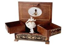 Music box and mini artworks / Music boxes and mini artworks around the world are my favorite  hoppy.  / by Fang-Yao Lu