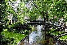 Netherlands, Canals / by Ruth Botting