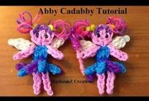 Rainbow Loom Rubber Band Tutorials / by Kristi Mari