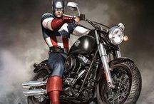 Captain America / by Kristi Mari