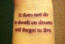 Tattoos  / by Kali Frye