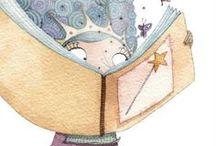 página ilustrada / by maria helena prado