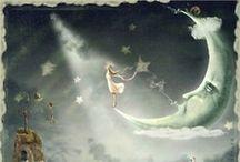☾ so dreams the NightSky ☽ / by Lynda Briggs Shehane