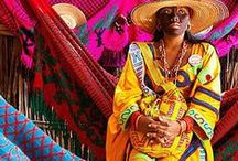 Cultura Wayuu / In a simple words, Wayuu Tribe is a native Colombian group, from La Guajira, that  shows the world how to live freely and happy with what nature gives us. / by The Wayu Collection