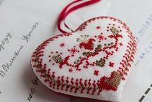 ✄ Needle Arts ~ Cross-Stitch Blackwork Needlepoint / Oft times, the simplest is the most beautiful ♥ / by Karen♥ PetitPoulailler ♥ ThreeFrenchHens