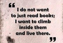 Books are the food of mind / Les livres ont une âme, l'âme de celui qui les a écrits et de ceux qui les ont lu et ont rêvé avec eux. - Carlos Ruiz Zafon / by Caroline Pauly