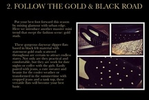 Style File: Gilded Black / by King & Fox Styling
