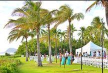 lagoon lawn | reception / by JW Marriott Ihilani Weddings