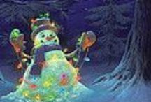 WINTER AND CHRISTMAS-HOHOHO / by dchisholm69@gmail.com dchisholm69@gmail.com