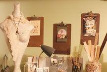 Craft Rooms / by Kimberly Thomas