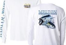 "FISHING APPAREL / Have you ever wondered ""What am I suppose to wear while fishing? Well, we have the answers! Take a look at these major brands! From Casual to Techy we have you covered! / by Melton International Tackle"