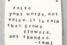 Noted. / by Rachael Mathews