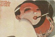 "Les girls ""Magazine Covers"" / Magazine & books covers / by Banco de imagen Amandine Ben"