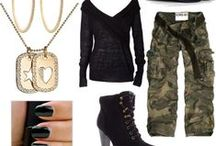 MILITARY INSPIRED FASHION / Salute military style.  / by Valerie Williams