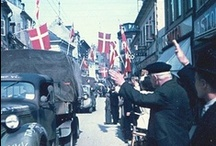 Denmark's Liberation / May 5th, 1945 Denmark was freed from 5 years of German occupation during World War II. When it was announced at 8PM on May 4th, Danes lit candles in their windows...a tradition that continues today / by Danish Sisterhood of America