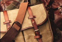 Leather and Canvas / All things leather, canvas and webbing / by PdT