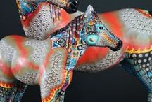 Polymer clay -  Creatures / by Vickki Bryant