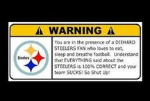 Football! / #1 Steelers - other legends included / by Annette Hill