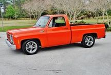Trucks / Mostly Square Body Chevy/GMC C10 trucks but other GM trucks/blazers as well. / by Douglas King