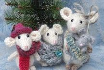 Knitting Animals Mouse / by Frieda Hoppen