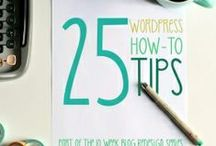 Wordpress Tips / Tips, Tools and Tricks for Navigating Your Way Through Wordpress / by Danielle Leigh