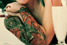 Tattoos and Piercings  / by Lana Little