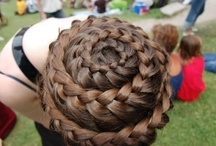 Twists, Curls, Braids, & Buns / Twisted mane, braided styles, and buns!  / by Madison