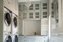 Laundry Rooms / In the hopes of making doing laundry somewhat pleasant. / by Tasha Akina