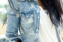 Denim / Denim fashion  / by Malisa Brown