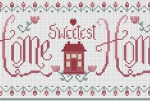 Cross Stitch Lover / Someone say that Cross stitching is a meditative form of craft. Reading a pattern and counting out those tiny xes quiets my mind. I hope that Stitching takes you away to a peacefull place too.  / by Jeanne Kaligis