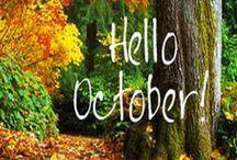 Hello October  / by Lilly Jordan