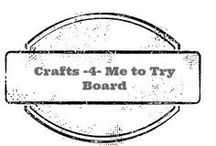 Crafts4MeToTry / craft projects I want to try!  / by Amber Whitehead