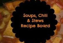 Soups, Chili and Stews / Yum Yum chilly weather foods / by Amber Whitehead