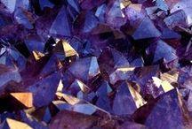 Nature & Art - Rocks - Purples / by Liz Ronning