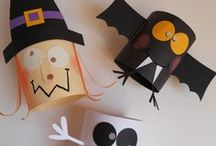 Halloween Kids' Crafts / How to keep those little Home Haunt helpers busy during the Halloween season. / by How to Haunt Your House