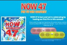 NOW 47: Pin to Win / Show us what hit songs have inspired you this summer and you could win a brand new Beats Pill wireless speaker—in your choice of color!   This contest is now over—thanks to all who entered! / by Now Thats Music!