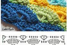 Crochet stiches / by Wilma Fels