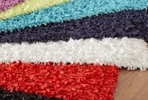 Area Rugs / Warm up your space with bright area rugs! / by OCM On Campus