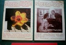 Vintage Sheet Music / Sheet Music and Project Ideas on How to Use It / by Em Hale